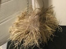 Sondra Roberts Ostrich Feathers handbag