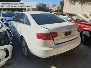 Audi A6 C6 4F White 2010 Diesel  Wrecking parts, panel, gearbox etc for sale