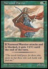 4x Guerriero di Norwood - Norwood Warrior MTG MAGIC PO2 Portal Second Age En/It