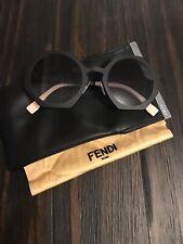 Designer Fendi Gradient round Sunglasses