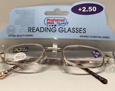 Preferred Plus Pharmacy Reading Glasses +2.50