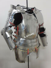Gothic Suit Of Armor  Half Suit Breastplate Back Plate and Armor Guard