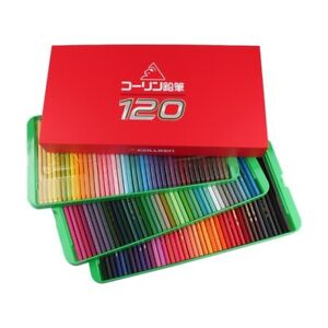 120 Colored Colleen Pencil crayon Premium Gift Kids Children Painting Drawing