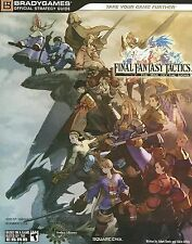 Final Fantasy Tactics: The War of the Lions Official Strategy Guide (BradyGames