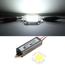 50W LED Driver Power Supply Waterproof IP67 with 50W LED Chip Lamp Light White