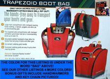 NEW Blue High Sierra Deluxe Snowboard/Ski Boot Bag/Backpack + Bonuses
