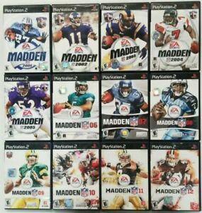 Football games  (Playstation 2) Ps2 Tested Madden ESPN NCAA