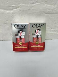 NEW!! 2PK OLAY Regenerist MicroSculpting Cream SPF 30 .5oz TRIAL Exp 06/21