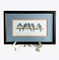 """Adorable """"Five of a Kind"""" by Carolyn Shores Wright Ltd Ed art print S&N"""