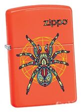 ZENTANGLE SPIDER Neon Orange ZIPPO Collection 2017 neu+ovp