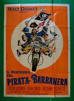 M23 Manifesto 4F Die Gespenst Der Pirat Blackbeard Walt Disney Peter Ustinov