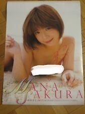 Mana Sakura - 紗倉まな - Calendrier 2017 - signé - Japanese Sexy Idol