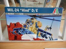"Modekit Italeri MIL-24 ""Hind"" D/E on 1:72 in Box"