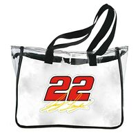 NASCAR Clear Tote Bag-Joey Logano #22 Reusable Shoulder Tote Bag
