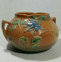 """Roseville Pottery Columbine 399 - 4"""" Vase"""