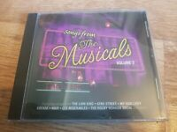 SONGS FROM THE MUSICALS CD - volume 2