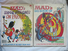 Lot of 2~Vintage 1978~Mad Magazine Collection~Sergio Aragones Spy Prohias~LBDCL