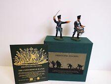 Frontline figures PNI.5 Prusia 12TH Brandenburgo Reg Officer & Drum MIB (BS2062)