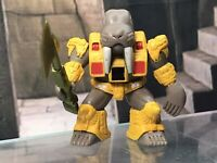 Battle Beasts Vtg Figure w Rub Sign Complete w Weapon & Rub Wolfgang Walrus #37