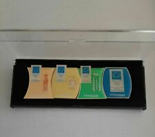 ATHENS 2004 OLYMPIC GAMES - ticketmaster full set of 4 pins in original case