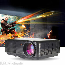 Home Theater Full HD 1080P 800*600 LED Projector 3D 3500lumens TV USB HDMI