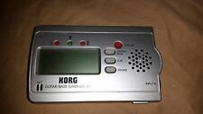 KORG GA-30 Guitar / Bass Tuner Excellent Conditon