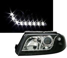 Scheinwerfer Set für VW PASSAT 3BG in LED Tagfahrlicht Optik Klarglas Schwarz