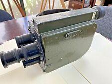 Vinten 35mm Combat Cine Camera. WWII Military Surplus All original Scarce
