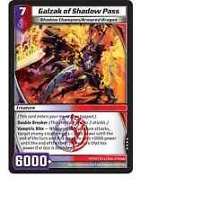 Kaijudo X3 GALZAK OF SHADOW PASS Very Rare #97/110 7CLA (Playset) Clash 2013