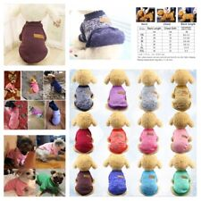 Pet Winter Sweater Clothes Fashion Coat Jacket Dog Puppy Cat Apparel Supplies