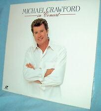 LD laserdisc Scarce 1998 MICHAEL CRAWFORD IN CONCERT