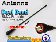Wouxun Dual Band antenna 136-174 / 400-480Mhz KG-UVD1P