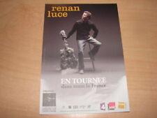 RENAN LUCE - RARE FLYER TOURNEE REPENTI !!!!!!!!!!