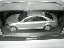 Kyosho 1:43 03632S Mercedes-Benz S600L V221 Silver NEW