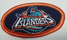 "NHL New York Islanders 2 5/8"" Old Logo Oval Iron-On Patch"