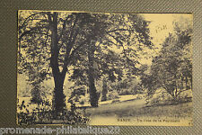 Tarjeta postal antigua NANCY - Un esquina el vivero
