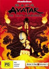 Avatar - The Last Airbender - Fire : Book 3 : Vol 3 (DVD, 2010) Unsealed