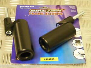 NEW BLACK FRAME SLIDERS/MUSHROOMS ZRX1100 ZRX1200 99-05