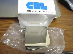 CRL UC77PN Polished Nickel Fixed Panel U Clamp
