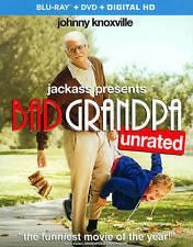 Jackass Presents: Bad Grandpa   ( Blu-ray Disc , & DVD ,  2-Disc Set)