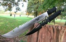 2er machete + COLTELLO KNIFE BOWIE Busch COLTELLO COLTELLO Hunting macete Machette NUOVO