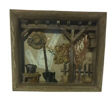 Three Hands Corp Rustic Shadow Box