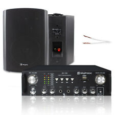Home Hifi Stereo Speakers and Amplifier System with MP3 USB and SD Karaoke