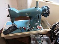 Alfa 45A Semi Industrial Resistente Tela de tapicería y máquina de coser