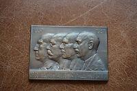 Médaille bronze - Centenaire école des mines de Mons 1937 - G. Jacobs