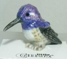 More details for little critterz miniature porcelain bird costa's hummingbird
