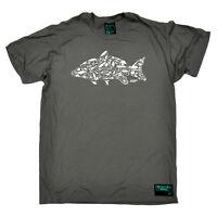 Fishing T-Shirt Funny Novelty Mens tee TShirt - Fishing Hook Carp