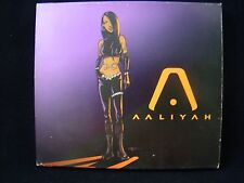 AALIYAH By Aaliyah CD WITH BONUS DVD - HTF RARE ( BLACKGROUND RECORDS )