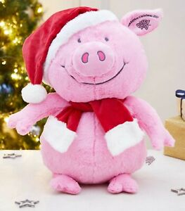 M&S Percy Pig Soft Cuddly Toy Plush 60CM Christmas Marks And Spencer