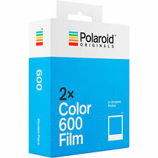 Polaroid Originals x2 Color Instant Film Double Pack for 600 636 OneStep 16 exp